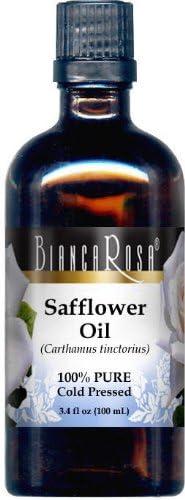Safflower OFFicial mail order Oil - 100% Pure Cold 3.40 oz Pressed 428376 free ZIN: fl
