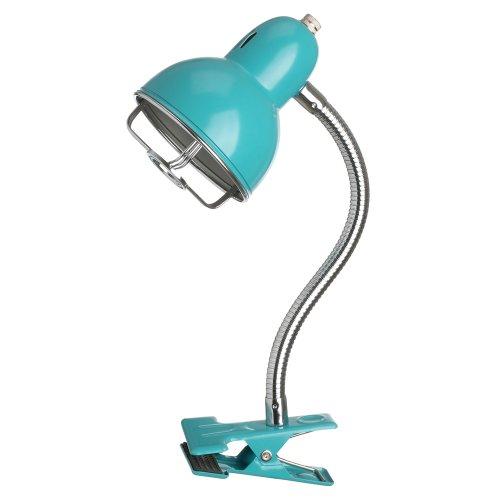 La Chaise Longue 31-L2-010T Lampe détroit Clip Turquoise, mtal, Bleu, 25 x 10 x H30cm