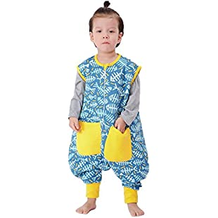 Customer reviews LINAG Newborn Sleeping Bag Pajamas Breathable Bodysuit Sack Swaddle Baby Climbing Anti-kick Legs Spring Cotton Swaddle Robes Split Leg Romper Blanket Toddler Cute Breathable Robes Romper Clothes , c , XL:Comoparardefumar