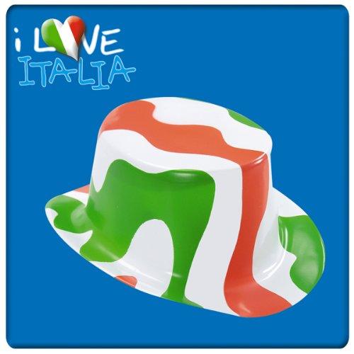 Kunststoff-Zylinder weiß grün rot Italien