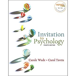VangoNotes for Invitation to Psychology, 4/e audiobook cover art