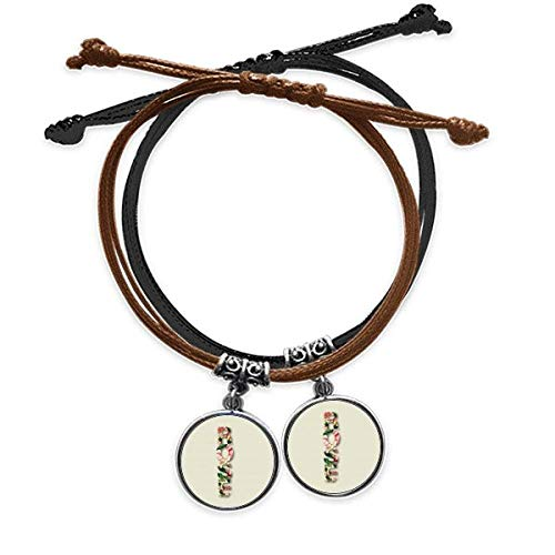 OFFbb-USA Rose Blossom Love Lover Art Deco Gift Fashion Bracelet Double Leather Rope Wristband Couple Set Gift -  x10110253b10052313f243848