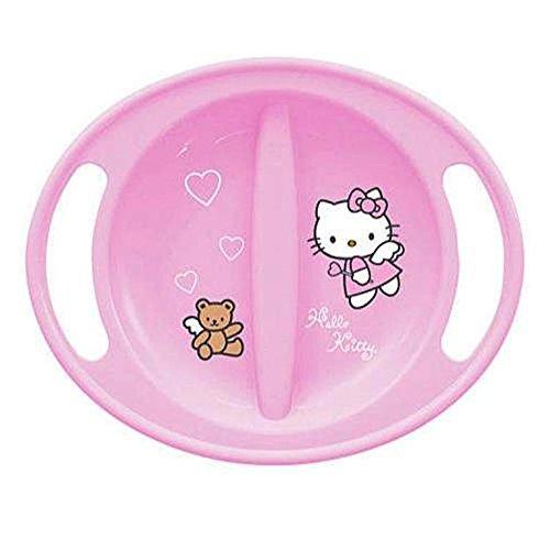 Assiette Micro-ondable Bébé Rose Hello Kitty
