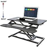 YAOBAO Computertisch Sitz-Steh-Schreibtisch...