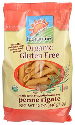 Bionaturae Organic Pasta, Penne Rigate, Gluten Free, 12 Oz
