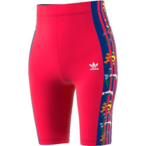 adidas Damen Flower Cycling Shorts,  Energy Pink F17, 36 (S)