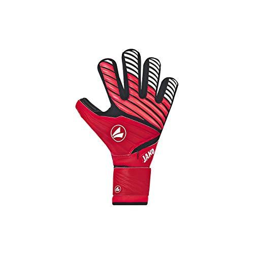 JAKO TW-Handschuh Champ Giga WRC Protection Torwart, rot/Schwarz/Weiß, 10