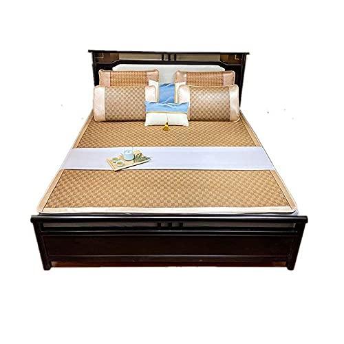 Colchón de colchón Cubierta colchón de enfriamiento Topper Funda de Almohada Verano colchonetas para Dormir esteras Transpirable Anti Allergy Protector decoración del hogar Regalos-A_120x195cm