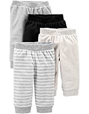 Simple Joys by Carter's Baby - Pantalones de forro polar (4 unidades)