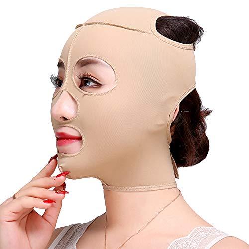 V Masque Facial Minceur, Slim Lifting Up Raffermit La Peau Bandage Ceinture Respirant Chin Lift Anti-Rides Masque De Sommeil Sangle