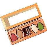 Esponja de Maquillaje Multifuncional, Licuadora de Esponja Portátil, Utilizada para Maquillaje Rápido en La Cara y El Cuello, Empaque de Caja de Regalo con Rejilla y Líquido de Limpieza