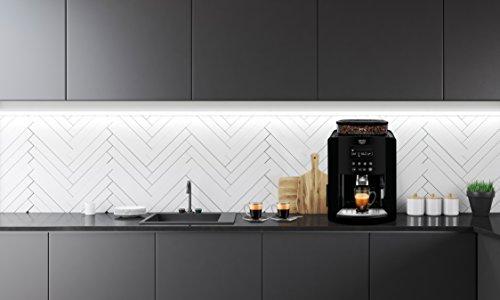 KRUPS Arabica Digital EA817040 Automatic Coffee Machine, Bean to Cup, Espresso, Cappuccino, Black