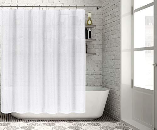 Homemaison Duschvorhang, weiß, 70x70