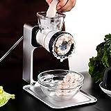 Mars Jun Picadora de Carne,Picadora de Carne Manual Máquina de Picar Carne Salchicha, Kitchen Craft - Incluye Accesorio para Salchichas