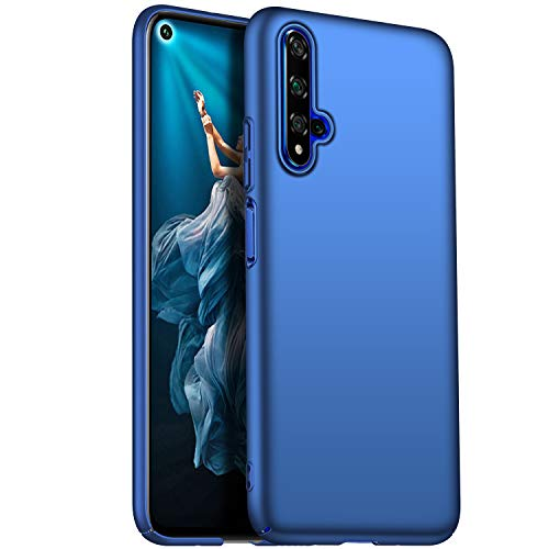 Kqimi Case for Huawei Honor 20/Nova 5T/Honor 20S Ultrathin Lightweight Matte Phone Case Simple Shockproof Scratchproof Full Body Case Compatible with Huawei Honor 20/Nova 5T/Honor 20S (2019) 6.26'Blau - 2