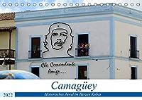 Camagueey - Historisches Juwel im Herzen Kubas (Tischkalender 2022 DIN A5 quer): Sehenswuerdigkeiten der 500 Jahre alten Stadt Camagueey (Monatskalender, 14 Seiten )