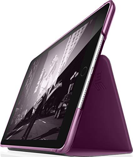 """STM Studio case designed to fit Apple iPad 5th Gen 9.7"""", iPad 6th Gen 9.7, iPad Pro 9.7, iPad Air 1, iPad Air 2 - Dark Purple (stm-222-161JW-45)"""