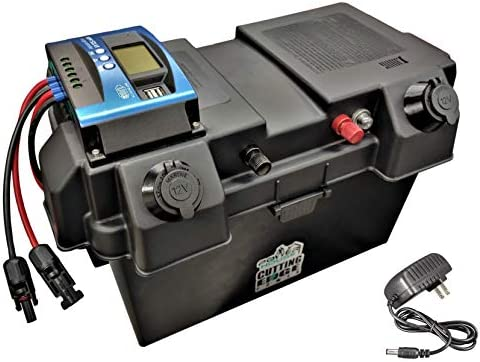 Cutting Edge Power 12VDC 24VDC 100A Smart and Portable Solar Battery Box with USB Charge Controller product image