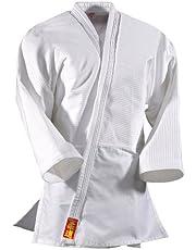 DanRho Judogi Yamanashi mit Schulterstreifen - Pantalones de Traje de Artes Marciales