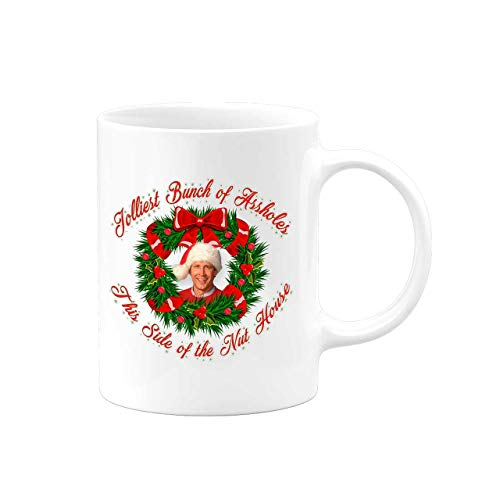 Jolliest Bunch Of A holes This Side Of The Nuthouse - National Lampoons - Christmas Vacation - Coffee Mug - Gift