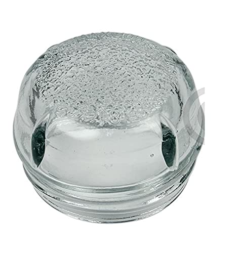 DL-pro Cristal para lámpara de 68 mm de diámetro para Bosch, Siemens, Constructa, Neff 647309, 00647309, cubierta de lámpara, cúpula de vidrio para lámpara de horno, lámpara de horno, lámpara de horno