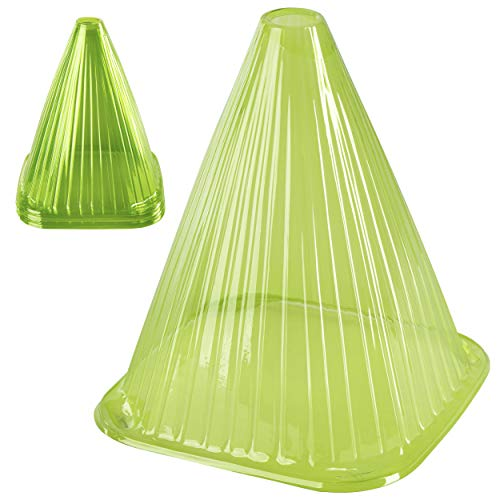 ONVAYA® Pflanzenhut-Set (10er), grün | Pflanzenschutz vor Witterung & Tieren | Pflanzglocke aus PVC | Pflanzenschutzhaube