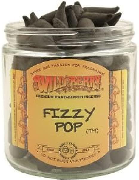 WILDBERRY 50 Incense Cones Fizzy Pop
