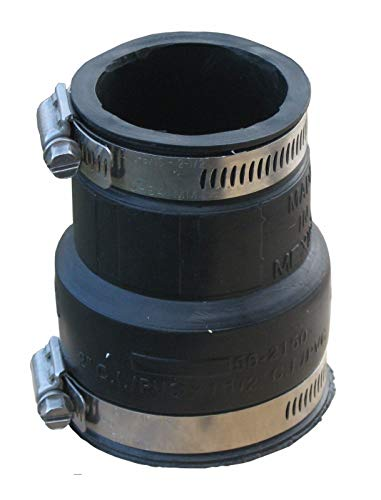 Gummireduzierung - flexible Reduziermuffe, (40mm X 32mm)