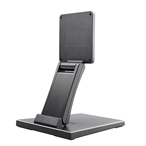 """Standfeste Halterung für Touchscreens, POS und PC Monitore / 10""""- 22"""" Zoll/verstellbar/Metallplattengerüst/hohes Eigengewicht/VESA 100 & 75 / Tischhalterung/Display Ständer"""