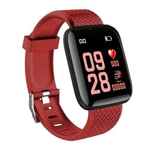 NSADBVTW 116 Plus Smart Bracelet Fitness Smart Watch Activity Tracker Mujeres Hombres Kid Fit bit Android iOS Heart Rate Pulseras Impermeables
