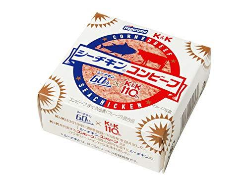 K&K 国分 シーチキンコンビーフ 80g缶(12缶入り×1ケース)