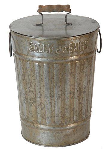 Antic Line Badaccessoires/Abfallbehälter, Anthrazit