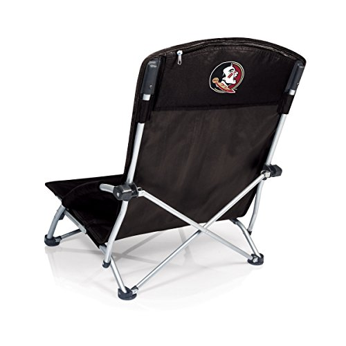PICNIC TIME NCAA Florida State Seminoles Tranquility Portable Folding Beach Chair, Black, One Size (792-00-175-174-0)