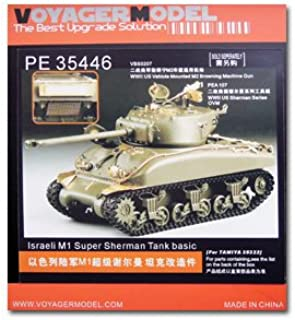 KNL HOBBY VOYAGER MODEL Photo-etched sheets parts The best upgrade solution PE35446 Israel M1 super Sherman medium tank used for modification of metal etching pieces