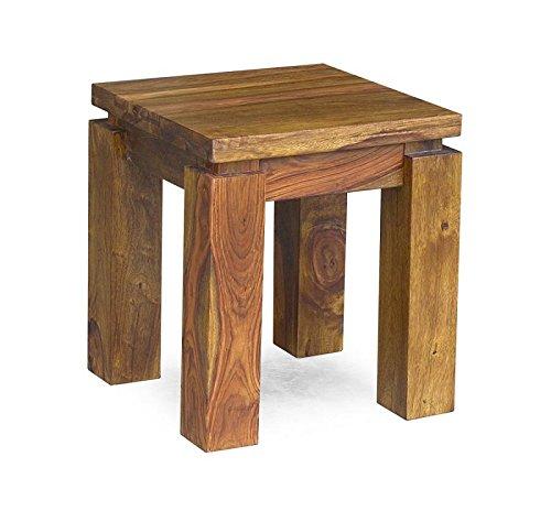 MASSIVMOEBEL24.DE Massivholz Palisander lackiert Möbel Life Honey Beistelltisch Sheesham Massivmöbel massiv Holz Metro Life #166