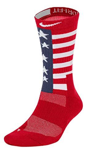 Nike Elite Energy RWB Crew Socks University Red/Midnight Navy/White (XL (Men's Shoe 12-15))