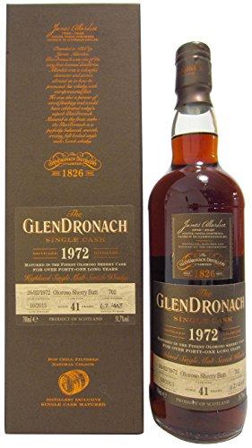 GlenDronach - Single Cask #702 (batch 9) - 1972 41 year old Whisky