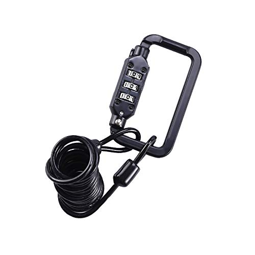 Portable Bike Lock for Travel Luggage Baby Strollers Suitcases and Laptop Bags