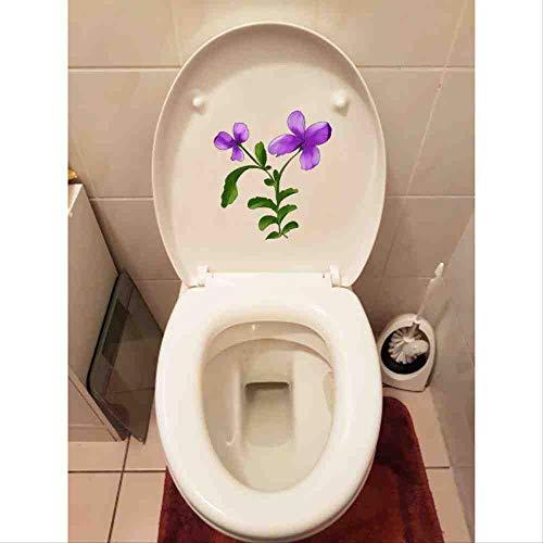 JPDP 20 * 22,2 cm Handbeschilderde Bloem Kinder Kamer Decoratie Thuis Toilet Stoel Sticker