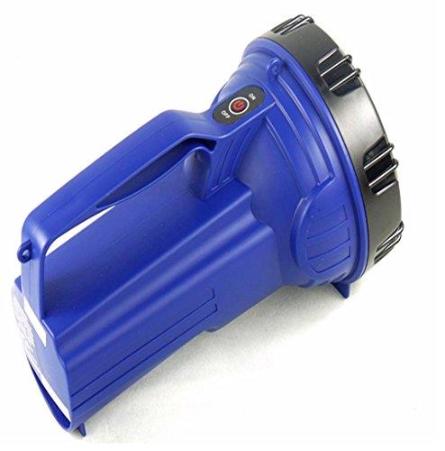 Jia & HE à longue portée LED Bright Light Lampe de poche lampe de projecteur portable rechargeable pour foyer extérieur lampe de poche