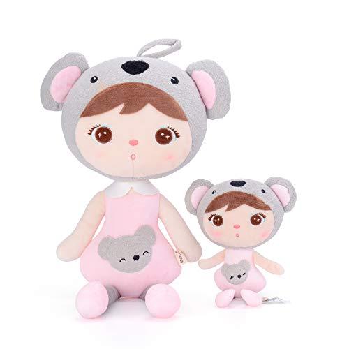 Metoo Plüschpuppe Puppe für Baby und Kleine Mädchen Geburtstagsgeschenk für Kinder (Keppel Koala Mädchen Puppe)