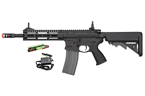 G&G CM16 Raider 2.0 6mm AEG Airsoft Rifle in Black w/Battery & Charger