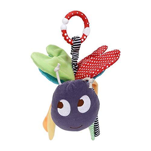 Juguete de peluche, juguete de felpa de dibujos animados para aliviar la ansiedad, algodón PP resistente al desgaste de felpa para regalo, juego para niños, niños(purple)