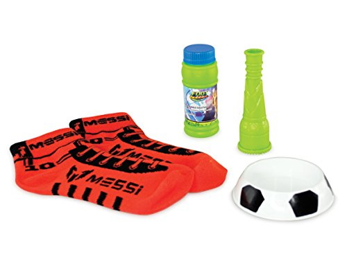 Messi Footbubbles Starter Pack with Socks (Red)