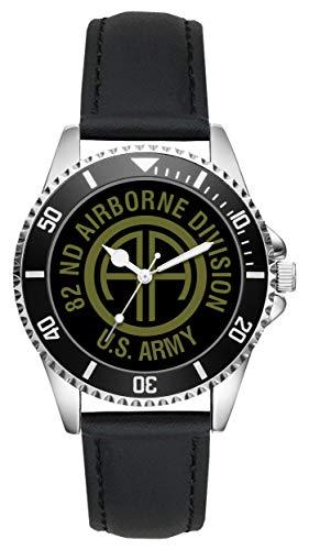 KIESENBERG - Geschenk US Army Veteran Military Soldat 82nd Airborne Division Uhr L-6501