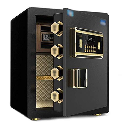 XHMCDZ Caja de Seguridad Digital, Seguridad for el hogar, Caja de Seguridad de 45 cm de Alta Completamente de Acero electrónico Contraseña antirrobo Invisible Objetos de Valor Caja de Seguridad, Apto