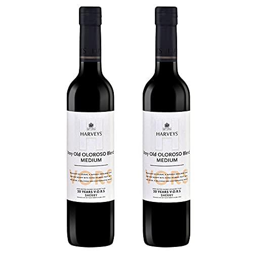 Vino VORS Oloroso Harveys de 50 cl - D.O. Jerez-Sherry - Bardinet (Pack de 2 botellas)