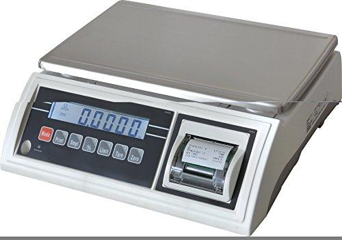 JWP-15K-IMP - Balance de précision avec imprimante incorporée, capacité 15 kg, précision 5 g