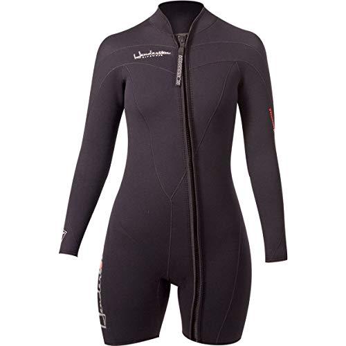 Henderson Woman Thermoprene Long Sleeve Shorty/Jacket (Front Zip) 3mm Scuba Wetsuit-4