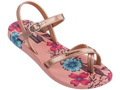 Ipanema Sandalen Mädchen Fashion Sandal VII Kids Zehen-Sandale Gummi-Sandalen Zehentrenner Knöchelriemchen Spangen Strap Steg Verschluss Schnalle 82767 (rosa (pink 20197), 27)